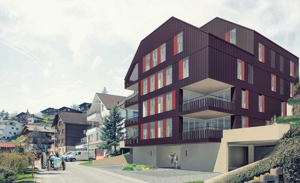 Alterswohnungen berom nster an zentraler gesch ftslage - Renderings architektur ...